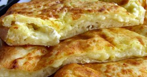 Хачапури с сыром (ленивые хачапури)