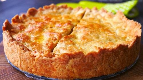 Пирог с капустой, который съедается за минуту