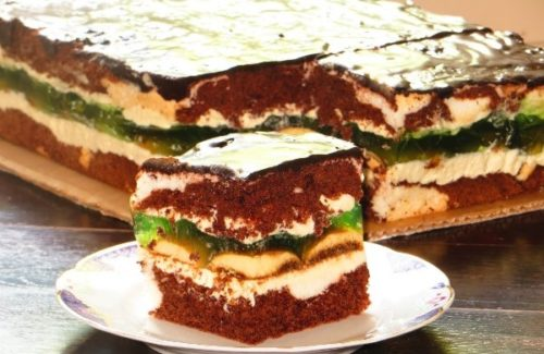 Торт «Глаза Клеопатры». Очень вкусный