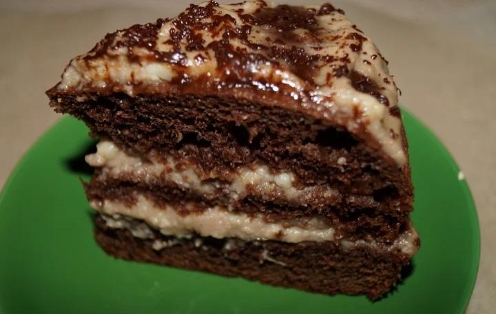 """Торт """"Прага"""" по домашнему - вкуснее и дешевле, чем из магазина"""