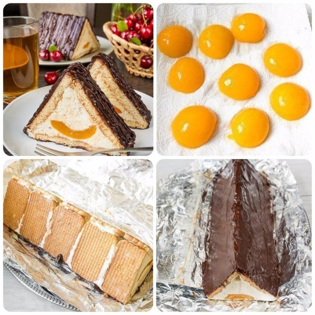 """ТОРТ """"ШАЛАШ ЛЮБВИ"""". Это торт без выпечки — многим он знаком еще с детства. Довольно просто и очень вкусно"""