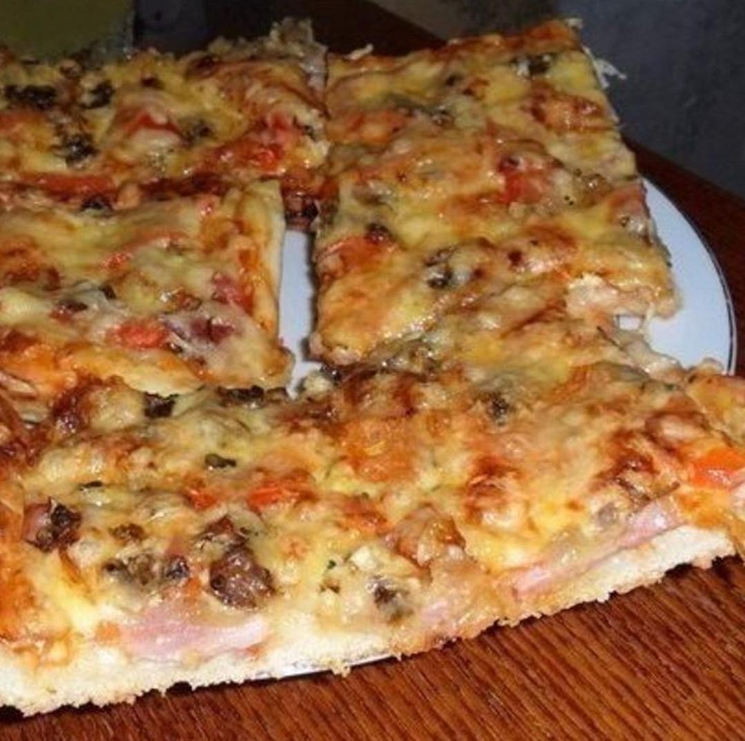 Самое замечательное тесто для пиццы