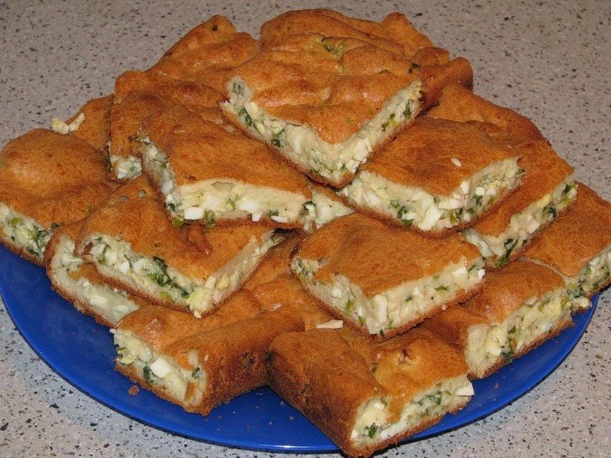 Пирог на майонезе - вкусно и быстро!!!