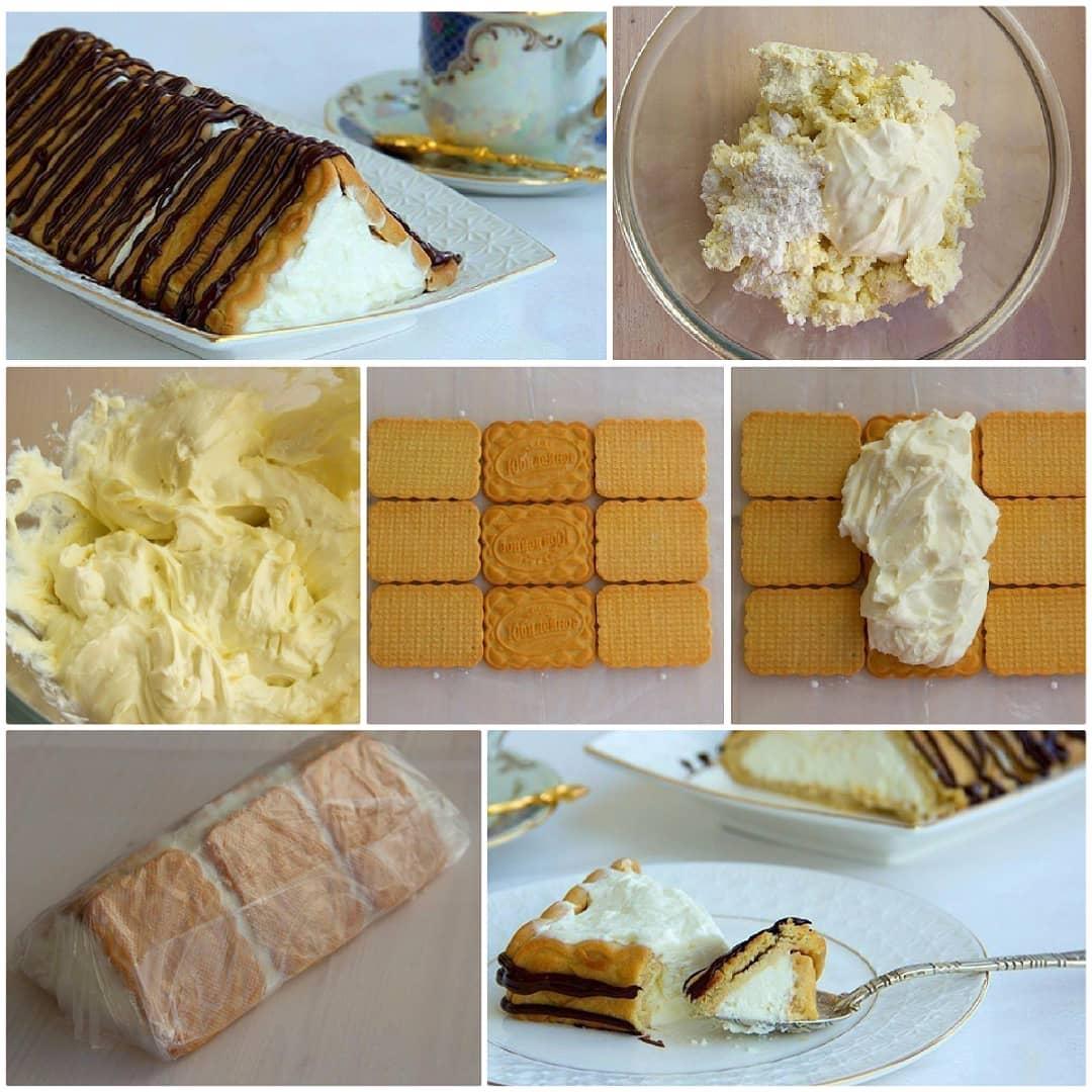 """Десерт без выпечки """"Творожный домик"""". Маленькая просьба, кто заберет к себе рецепт в закладки, оставьте любой смайл в комментариях"""