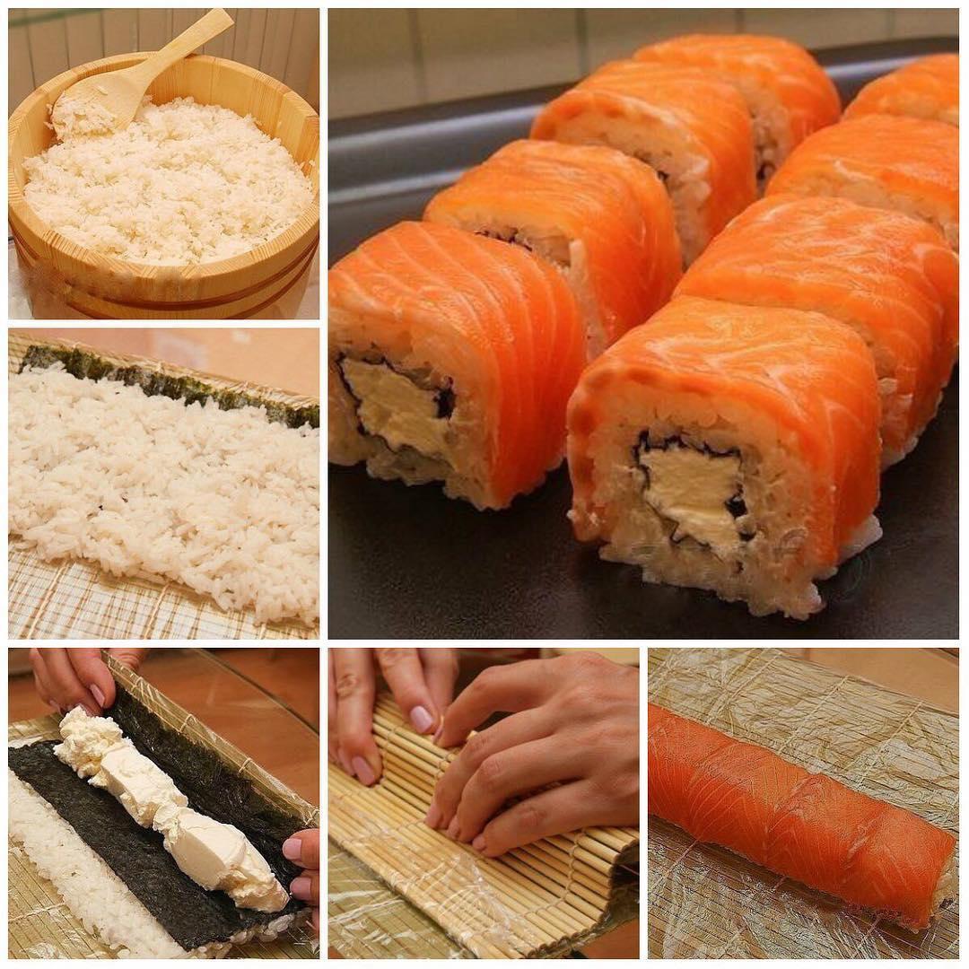"""Ролл """"Филадельфия"""". Любите суши? Попробуйте приготовить их сами!"""