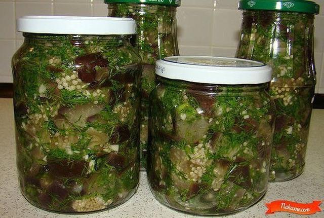 БАКЛАЖАНЫ КАК ГРИБЫ. Отличная закуска из баклажан, вкус напоминает грибы