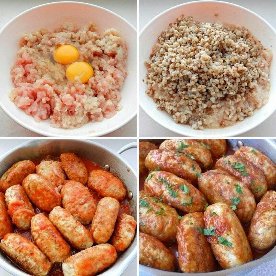 Гречаники, приготовленные по этому рецепту, получаются аппетитными, сытными и очень вкусными