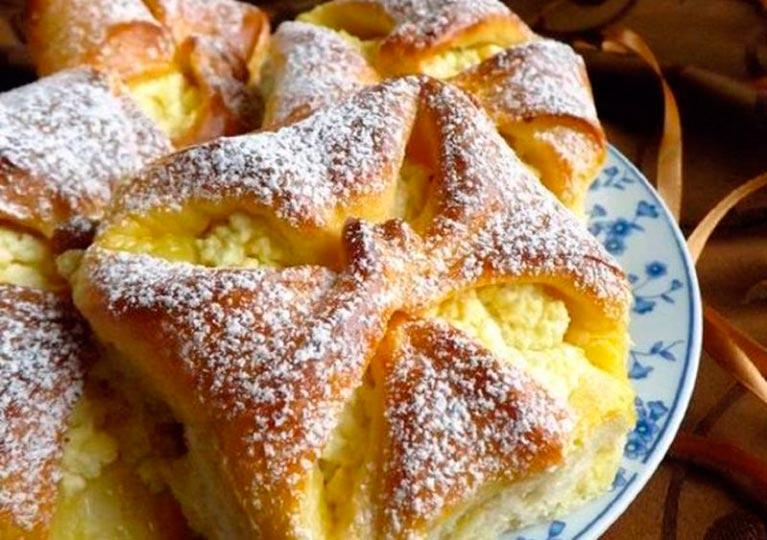 Восхитительные сладкие булочки с ТВОРОГОМ и ИЗЮМОМ