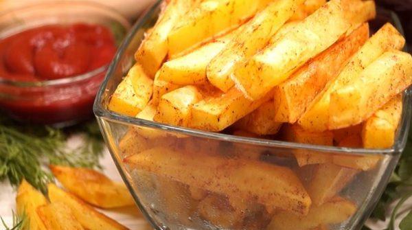 Идеальная картошка фри за 10 минут: ни грамма масла и жира!