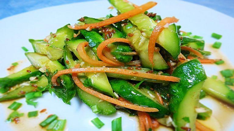 Сегодня я поделюсь с вами лучшим, на мой взгляд, рецептом домашних огурчиков по-корейски
