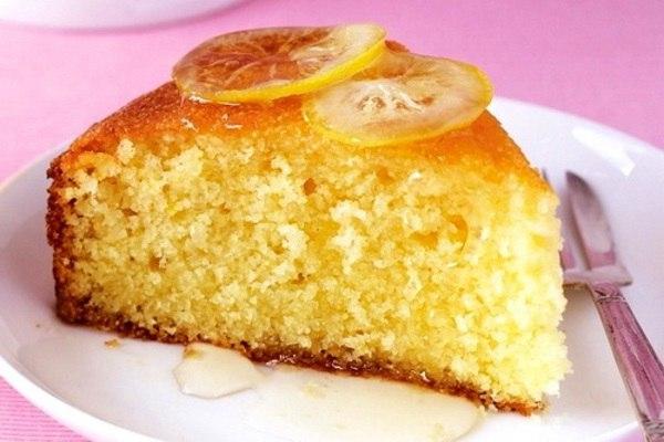 Лимонный манник: нежный вкус и приятный лимонный аромат!