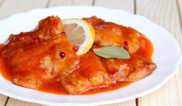 Обалденно вкусная тушеная рыба с томатами по-сицилийски: объедение!