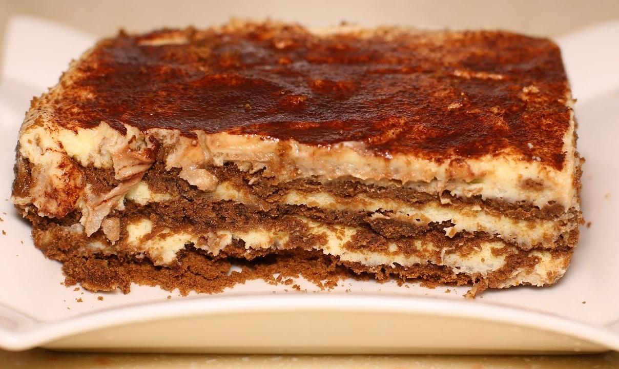 Шоколадно молочный торт без выпечки. Десерт за считанные минуты.