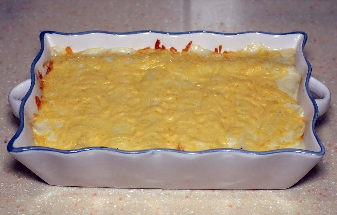 Каннеллони с мясной начинкой под соусом бешамель. Для всех кто любит пельмени.