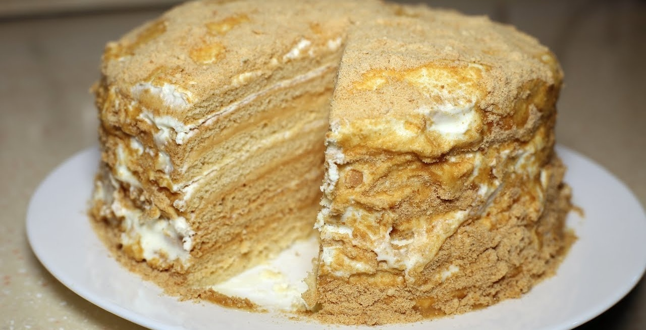 Нежнейший торт Медовик. Самый вкусный рецепт.