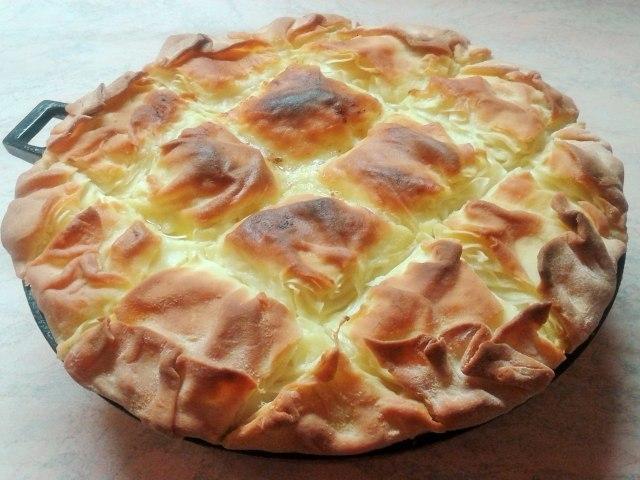 Вкуснейшая Ачма с сыром — пышная и многослойная! С ней справится даже начинающая хозяйка