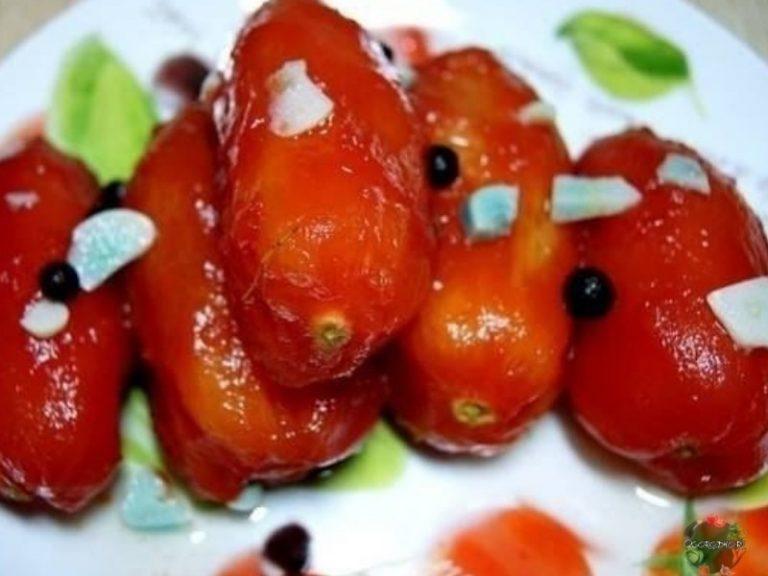 Закусочные помидорки всего за 24 часа! Съедаются моментально!