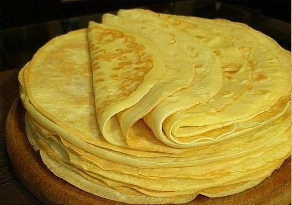 Уникальный рецепт — Вкусные блинчики на майонезе